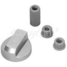 Universal Multifit Cooker Control Knob Silver x1