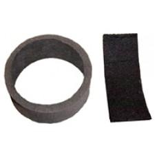 Bissell Upright Circular Filter & Post Motor Filter Set x1